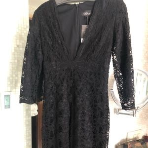 Top Shop Lace Jumpsuit fitted SZ 36 petite NWT